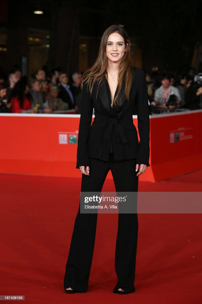 Matilda Anna Ingrid Lutz attends the Opening Ceremony and 'L'Ultima Ruota Del Carro' Premiere during The 8th Rome Film Festival on November 8 2013 in...