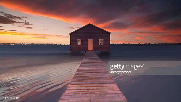 Matilda Bay boat house