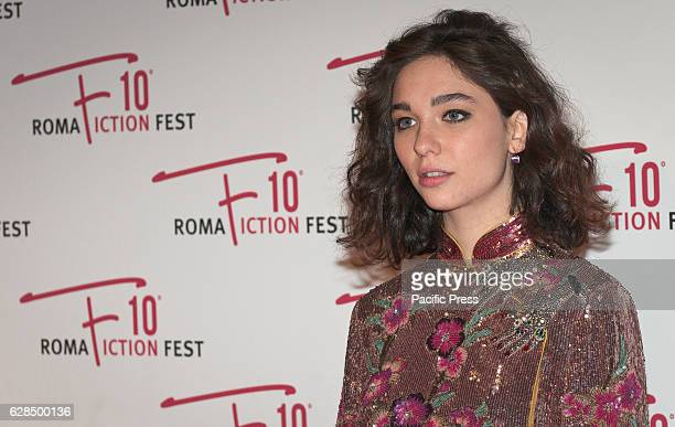 Matilda De Angelis attend the red carpet for the opening ceremony of the Roma Fiction Fest 2016