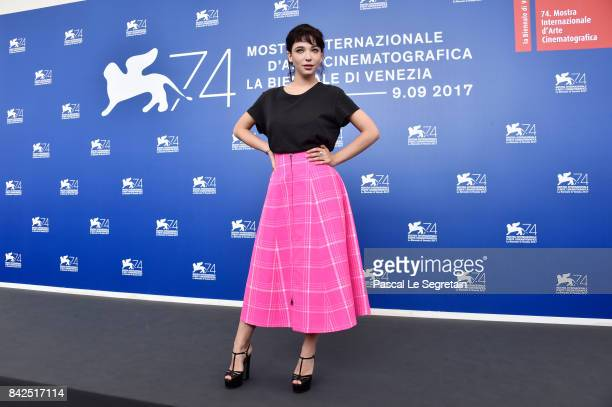 Matilda De Angelis attends the 'Una Famiglia' photocall during the 74th Venice Film Festival on September 4 2017 in Venice Italy