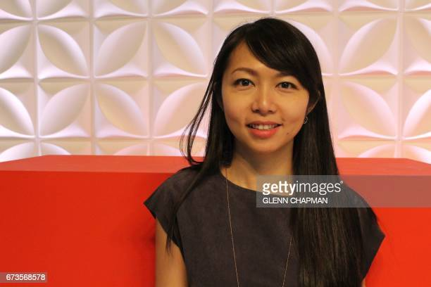Matilda Ho of Shanghai based food startup incubator Bits and Bites poses for a photo at a TED Conference in Vancouver Canada on April 24 where she...