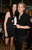 Matilda Lowther and Jamie Campbell Bower attend the Charlotte Olympia 'Handbags for the Leading Lady' launch dinner at Toto's Restaurant on October...