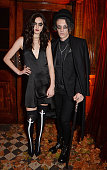 Matilda Lowther and Jamie Campbell Bower attend the Unicef UK Halloween Ball raising vital funds to help protect Syria's children from danger at One...