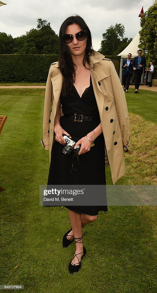 Matilda Lowther attends The Cartier Style et Luxe at the Goodwood Festival of Speed at Goodwood on June 26, 2016 in Chichester, England.
