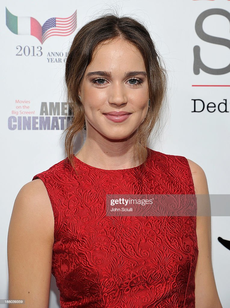 Matilda Lutz attends Cinema Italian Style 2013 'The Great Beauty' opening night premiere at the Egyptian Theatre on November 14, 2013 in Hollywood, California.
