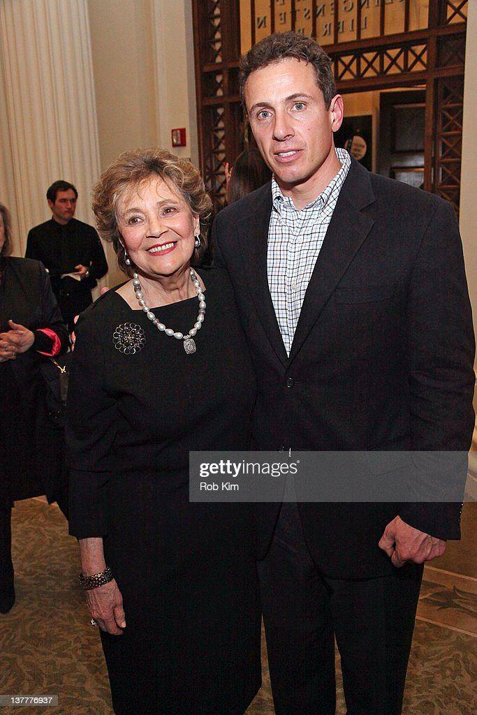 Matilda Raffa Cuomo and Chris Cuomo attend the 'The Person Who Changed My Life Prominent People Recall Their Mentors' book launch party at the New...
