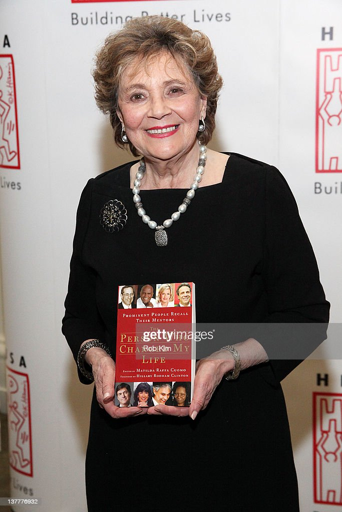 Matilda Raffa Cuomo attends the 'The Person Who Changed My Life Prominent People Recall Their Mentors' book launch party at the New York Historical...