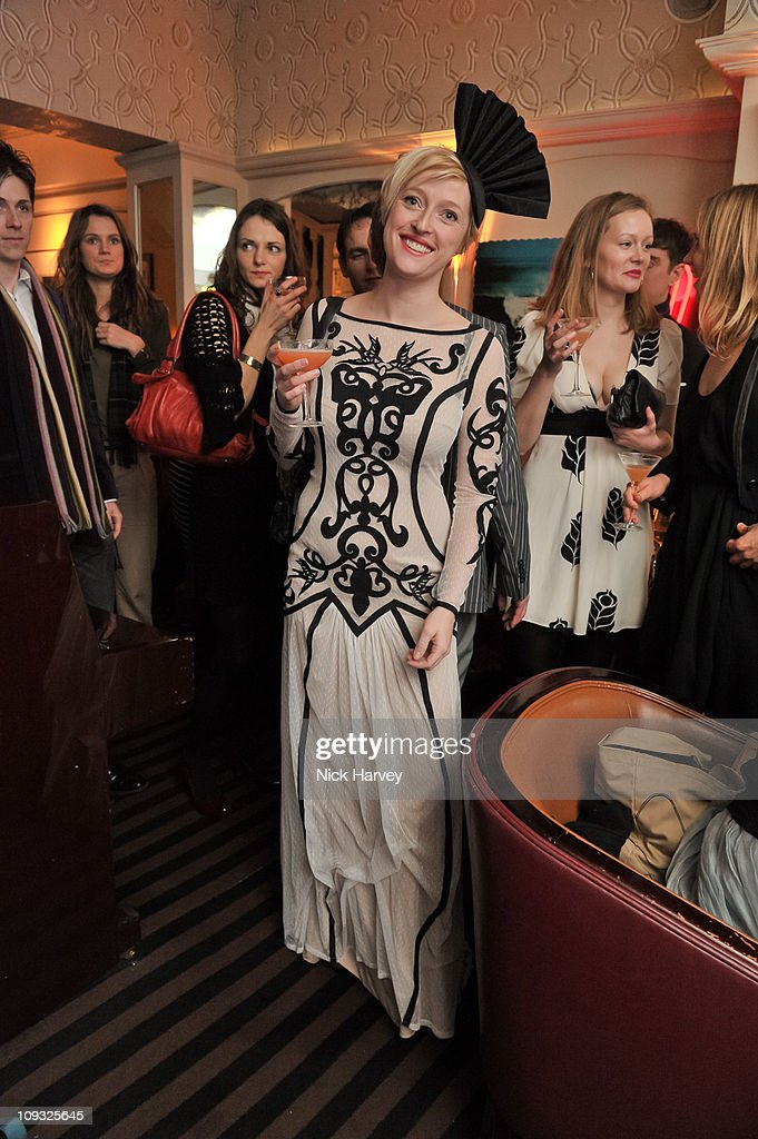 Matilda Temperley attends the Temperley London After Party during London Fashion Week A/W 2011 on February 20 2011 in London England