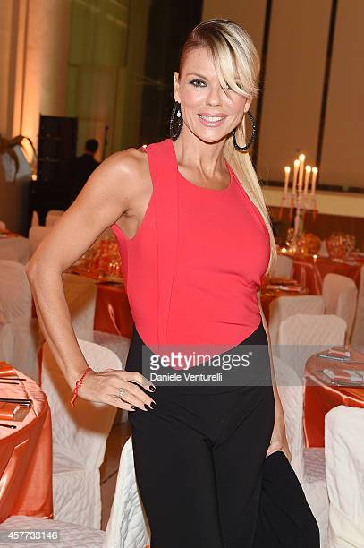 Matilde Brandi attends Gala Telethon during the 9th Rome Film Festival at Auditorium Parco Della Musica on October 23 2014 in Rome Italy