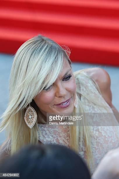 Matilde Brandi attends 'La Rancon De La Gloire' Premiere during the 71st Venice Film Festival on August 28 2014 in Venice Italy