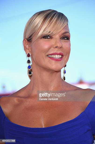 Matilde Brandi attends the 'Anime Nere' Premiere during the 71st Venice Film Festival at Sala Grande on August 29 2014 in Venice Italy