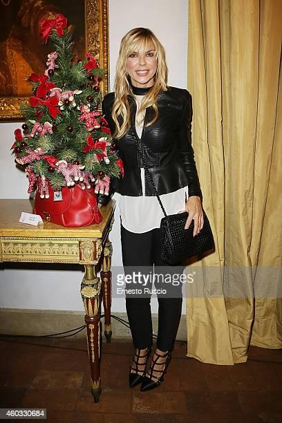 Matilde Brandi attends the 'Il Natale Dei 100 Alberi d'Autore 100 Christmas Trees By Designers' benefit night at Palazzo Torlonia on December 11 2014...