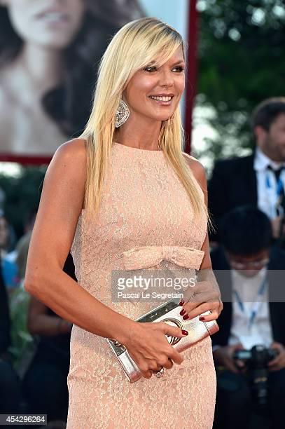 Matilde Brandi attends the 'La Rancon De La Gloire' premiere during the 71st Venice Film Festival on August 28 2014 in Venice Italy