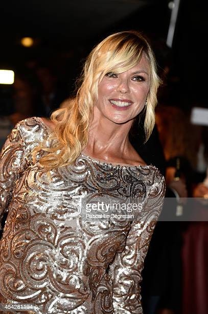 Matilde Brandi attends the Opening Dinner during the 71st Venice Film Festival on August 27 2014 in Venice Italy