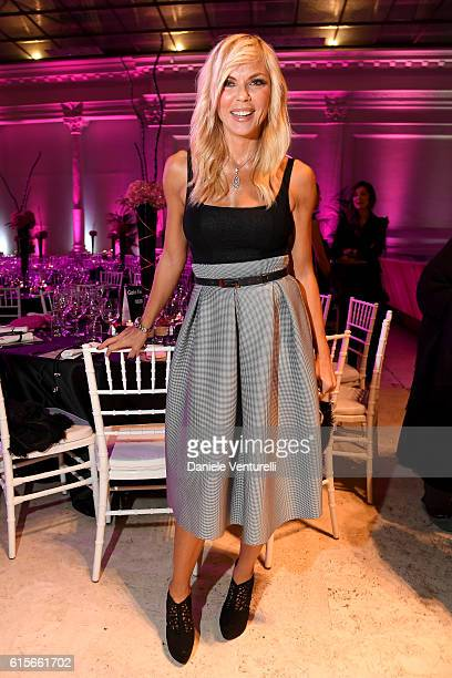 Matilde Brandi attends the Telethon Gala during the 11th Rome Film Fest on October 19 2016 in Rome Italy