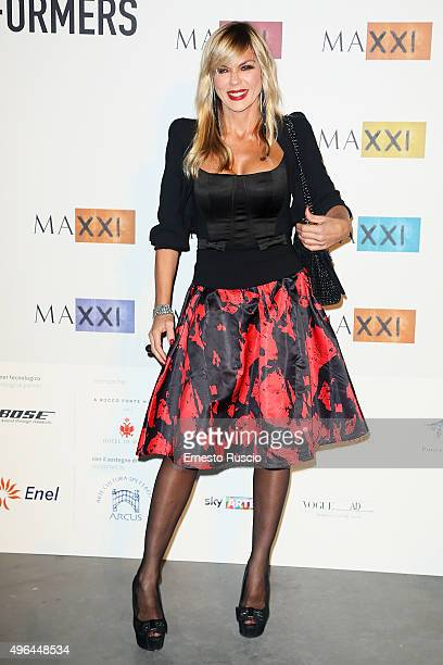 Matilde Brandi MAXXI Acquisition Gala Dinner at Maxxi Museum on November 9 2015 in Rome Italy