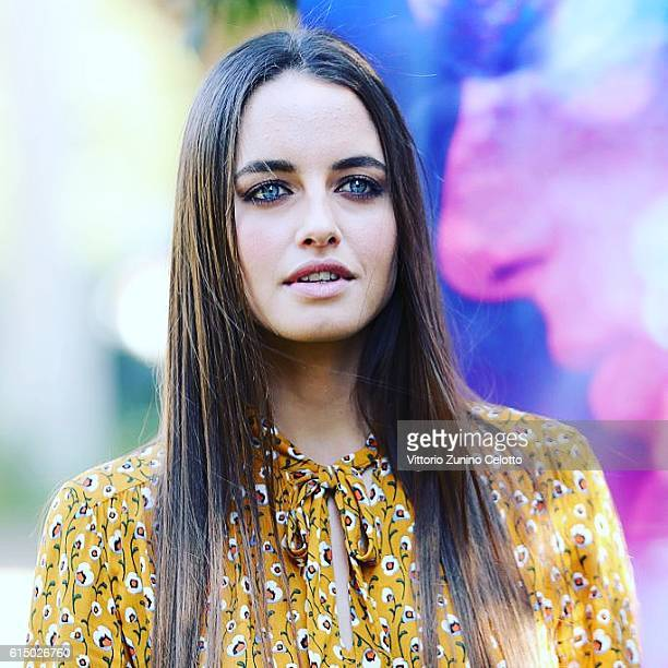 Matilde Gioli attends a photocall for '2Night' during the 11th Rome Film Festival on October 16 2016 in Rome Italy