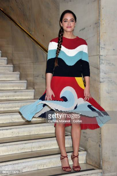 Matilde Gioli attends a photocall for 'The Startup' on April 3 2017 in Rome Italy