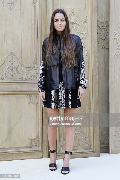 Matilde Gioli attends the Valentino show as part of the Paris Fashion Week Womenswear Spring/Summer 2017 on October 2 2016 in Paris France