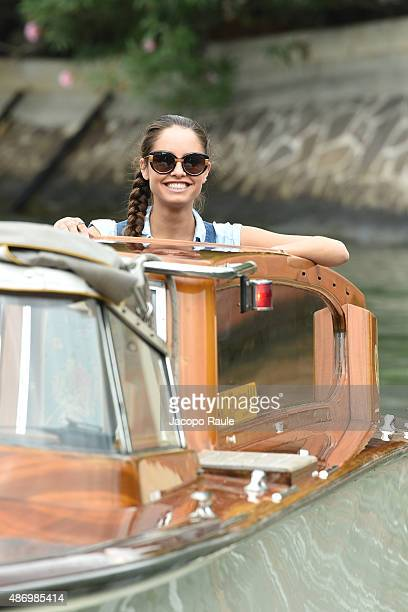 Matilde Gioli is seen during the 72nd Venice Film Festival on September 5 2015 in Venice Italy