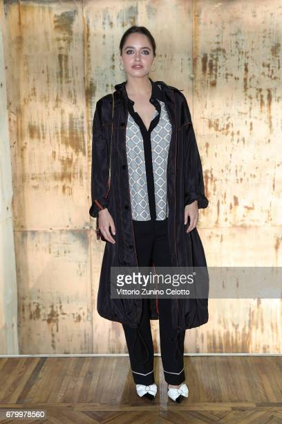 Matilde Gioli while attending the Prada Resort 2018 Womenswear Show in Osservatorio on May 7 2017 in Milan Italy