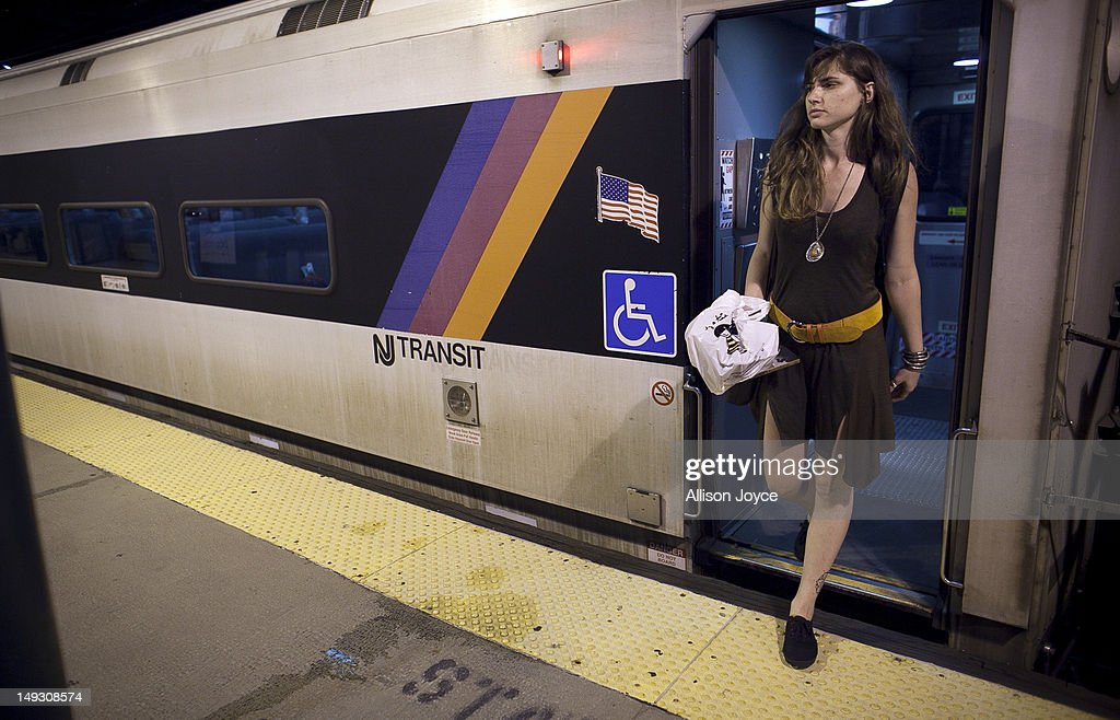 Matilde Hoffman gets off the train June 22, 2012 in Summit, New Jersey.Matilda graduated from University of Southern California in December of 2011 with a bachelors degree in neuroscience. Since graduating she has applied to over 30 different jobs, gone on 3 interviews, and had no luck finding a full time job. In the meantime she has been working two part time hostess jobs and volunteering with New York Cares. In June, on a whim, she applied to a one year medical science program at Drexel University at was recently accepted. ''I was tired of the job search. All this looking for a job, volunteering and shuffling around to two part time jobs was getting stressful. If that's the only opportunity I have, if nothing else comes my way, I should do it. If this is what life has brought to me at the moment I should take it.'' she said. From 2000 to 2010 the number of waiters and waitresses ages 18 to 30 with college degrees increased 81 percent according to the U.S. Census Bureau. Educated bartenders, dishwashers in that age group doubled. Recently the Associated Press reported that ''About 1.5 million, or 53.6 percent, of bachelor's degree-holders under the age of 25 last year were jobless or underemployed, the highest share in at least 11 years.''