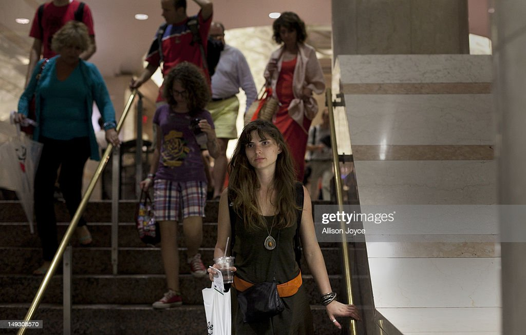 Matilde Hoffman walks through Penn Station to take the train back to her home in Summit New Jersey where she lives with her parents June 22, 2012 in New York City. Matilda graduated from University of Southern California in December of 2011 with a bachelors degree in neuroscience. Since graduating she has applied to over 30 different jobs, gone on 3 interviews, and had no luck finding a full time job. In the meantime she has been working two part time hostess jobs and volunteering with New York Cares. In June, on a whim, she applied to a one year medical science program at Drexel University at was recently accepted. ''I was tired of the job search. All this looking for a job, volunteering and shuffling around to two part time jobs was getting stressful. If that's the only opportunity I have, if nothing else comes my way, I should do it. If this is what life has brought to me at the moment I should take it.'' she said. From 2000 to 2010 the number of waiters and waitresses ages 18 to 30 with college degrees increased 81 percent according to the U.S. Census Bureau. Educated bartenders, dishwashers in that age group doubled. Recently the Associated Press reported that ''About 1.5 million, or 53.6 percent, of bachelor's degree-holders under the age of 25 last year were jobless or underemployed, the highest share in at least 11 years.''