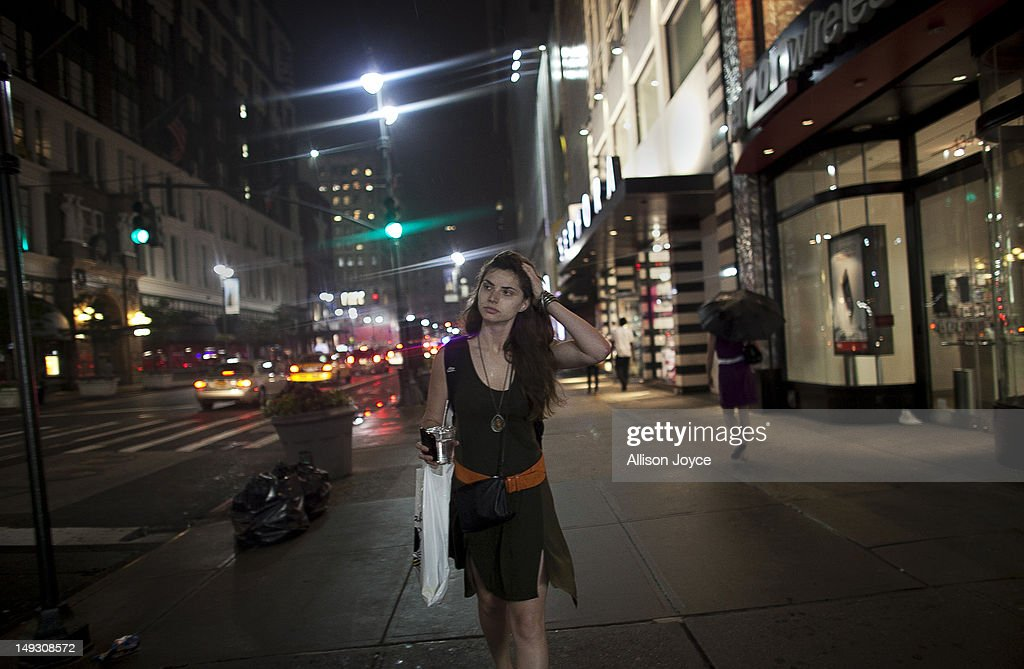 Matilde Hoffman walks to the train after working her part time hostessing job June 22, 2012 in New York City. Matilda graduated from University of Southern California in December of 2011 with a bachelors degree in neuroscience. Since graduating she has applied to over 30 different jobs, gone on 3 interviews, and had no luck finding a full time job. In the meantime she has been working two part time hostess jobs and volunteering with New York Cares. In June, on a whim, she applied to a one year medical science program at Drexel University at was recently accepted. ''I was tired of the job search. All this looking for a job, volunteering and shuffling around to two part time jobs was getting stressful. If that's the only opportunity I have, if nothing else comes my way, I should do it. If this is what life has brought to me at the moment I should take it.'' she said. From 2000 to 2010 the number of waiters and waitresses ages 18 to 30 with college degrees increased 81 percent according to the U.S. Census Bureau. Educated bartenders, dishwashers in that age group doubled. Recently the Associated Press reported that ''About 1.5 million, or 53.6 percent, of bachelor's degree-holders under the age of 25 last year were jobless or underemployed, the highest share in at least 11 years.''