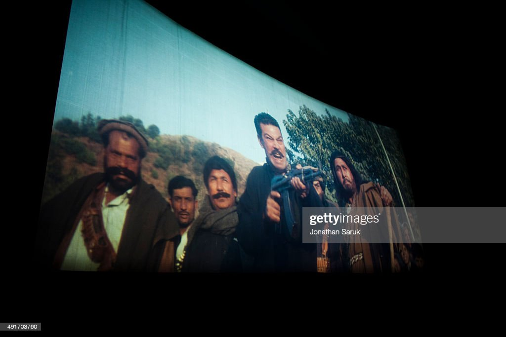 A matinee of a Pakistani film at Pamir Cinema November 27, 2010 in Kabul, Afghanistan. Going to the movies, once banned under the Taliban, has become a popular form of entertainment in Kabul, but women and children rarely take part.