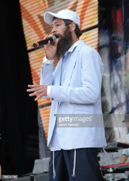 Matisyahu performs during Farm Aid 2007 at Randall's Island on September 9 2007 in New York City