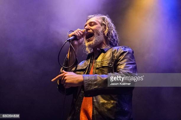 Matisyahu performs on stage at the Fillmore Miami Beach on December 21 2016 in Miami Beach Florida
