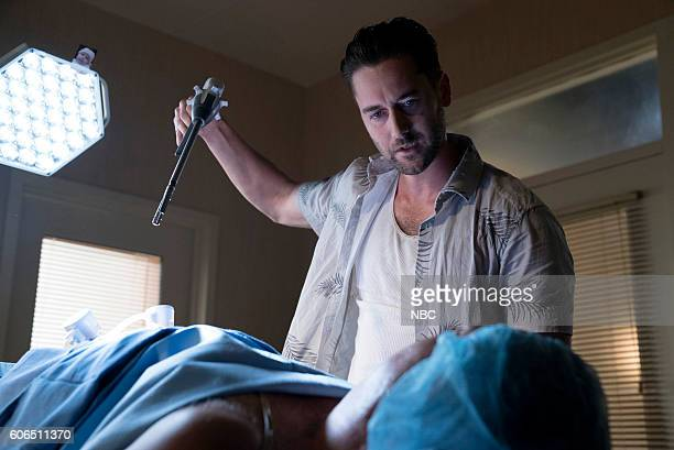 THE BLACKLIST 'Mato' Episode 402 Pictured Ryan Eggold as Tom Keen Jack Topalian as Little Nikos