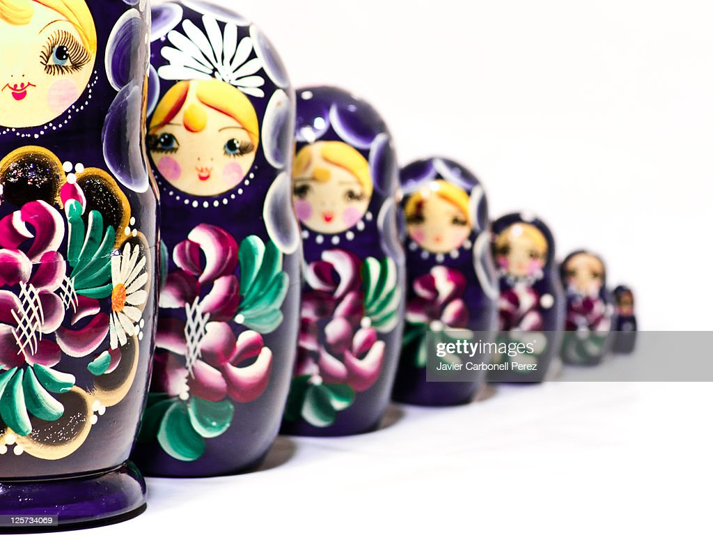 Matryoshka doll : Stock Photo