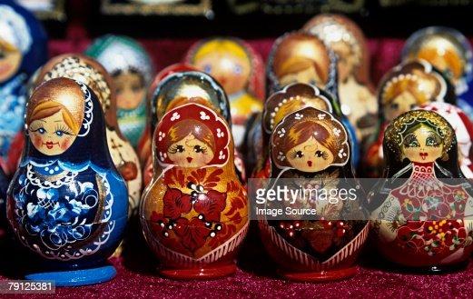 Matryoshka dolls : Stock Photo