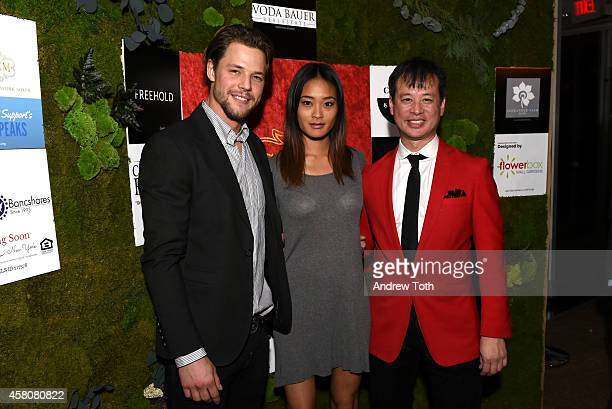 Mats Christeen Jarah Mariano and Billy Fazio attend The Social Network Mixer on October 29 2014 in New York City