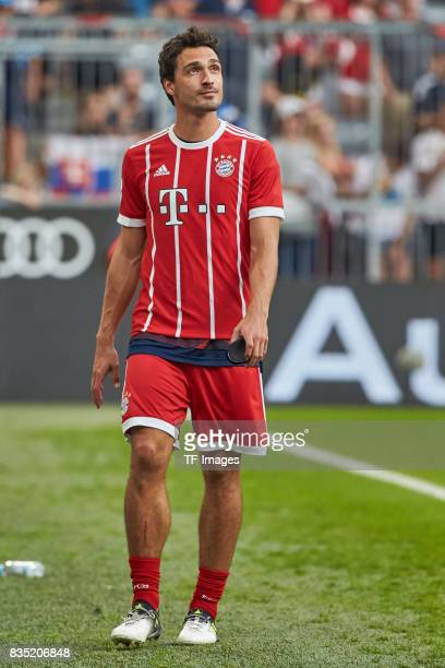 Mats Hummels of Bayern Muenchen during the Audi Cup 2017 match between SSC Napoli and FC Bayern Muenchen at Allianz Arena on August 2 2017 in Munich...