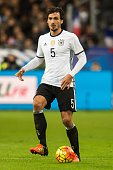 Mats Hummels of Germany during the International friendly match between France and Germany on November 13 2015 at the Stade France in Paris France