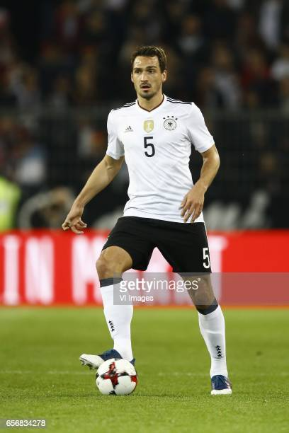 Mats Hummels of Germanyduring the friendly match between Germany and England on March 22 2017 at the Signal Iduna Park stadium in Dortmund Germany