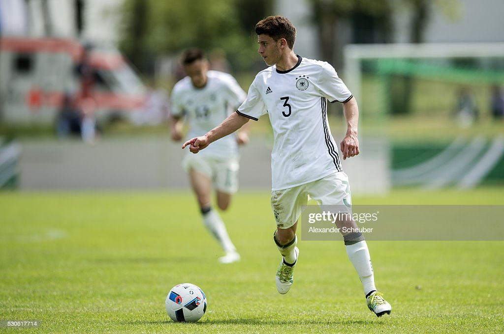 Mats Koehlert of Germany during the international friendly match between Germany and Ireland on May 11 2016 in Russelsheim Germany