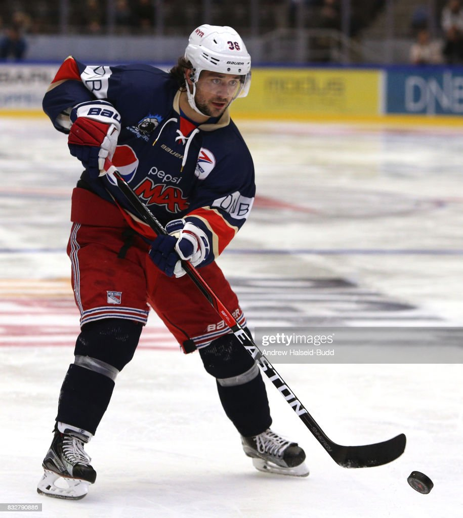 Mats Zuccarello in action during the Team Zuccarello v Team Icebreakers All Star Game at the DNB Arena on August 16, 2017 in Stavanger, Norway.