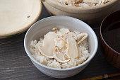 matsutake rice