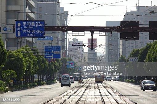 Matsuyama cityscape