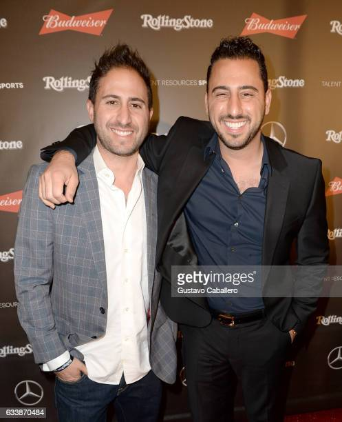 Matt Altman and TV personality Josh Altman at the Rolling Stone Live Houston presented by Budweiser and MercedesBenz on February 4 2017 in Houston...