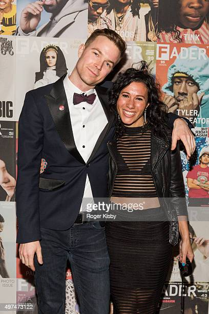 Matt and Kim attend the Fader 100 Issue Release After Party at Up Down on November 16 2015 in New York City