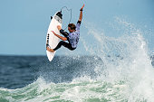 Matt Banting of Australia surfs during his Round 4 heat at the Oi Rio Pro on May 15 2015 in Rio de Janeiro Brazil