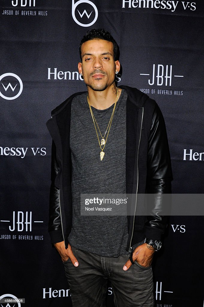 Matt Barnes attends Hennessy V.S Presents Brandon Williams' Simple is Perfect Capsule Collection Launch at Austere on November 7, 2014 in Los Angeles, California.