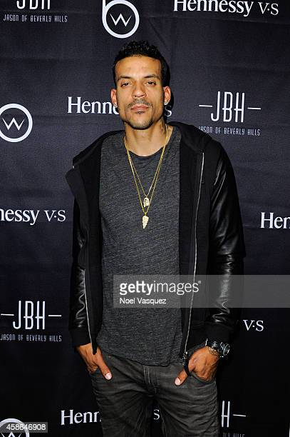 Matt Barnes attends Hennessy VS Presents Brandon Williams' Simple is Perfect Capsule Collection Launch at Austere on November 7 2014 in Los Angeles...