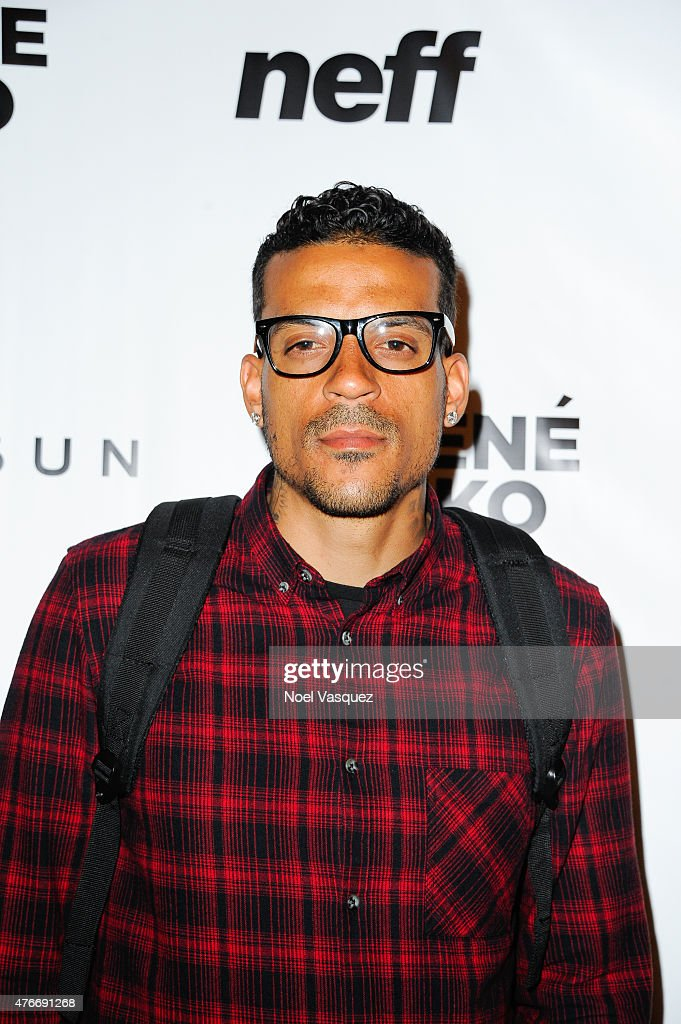 Matt Barnes attends Neff Headwear x PacSun presents Jhene Aiko's 'Soul of Summer' Collection at US Bank Tower on June 10 2015 in Los Angeles...