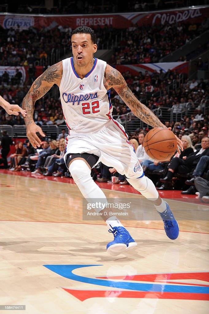 <a gi-track='captionPersonalityLinkClicked' href=/galleries/search?phrase=Matt+Barnes+-+Basketball+Player&family=editorial&specificpeople=202880 ng-click='$event.stopPropagation()'>Matt Barnes</a> #22 of the Los Angeles Clippers drives to the basket against the Sacramento Kings at Staples Center on December 1, 2012 in Los Angeles, California.