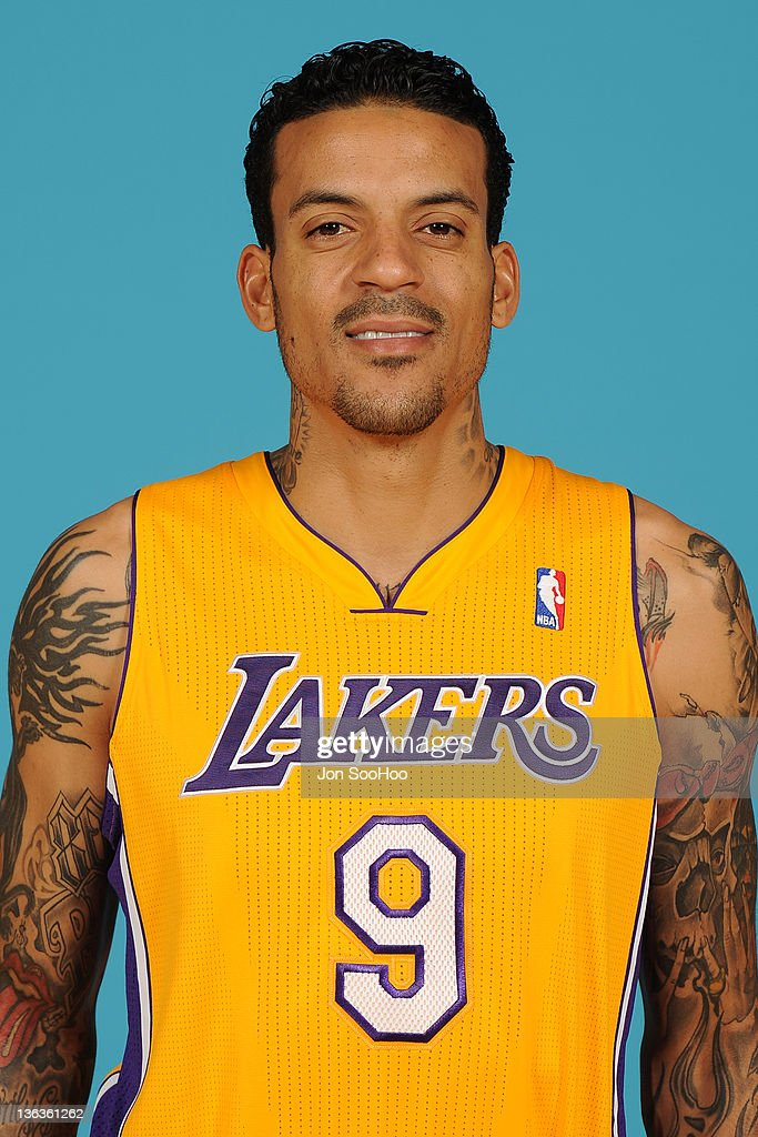Matt Barnes of the Los Angeles Lakers poses for a photo during Media Day at Toyota Sports Center on December 11 2011 in El Segundo California NOTE TO...